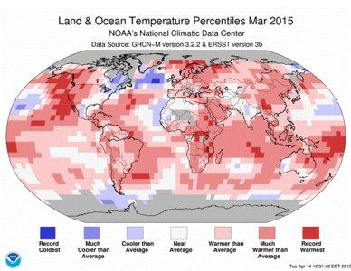 Cambio climático: una  de cada seis especies amenazadas de extinción