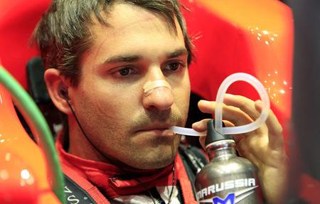 Timo Glock no disputará el Gran Premio de Europa