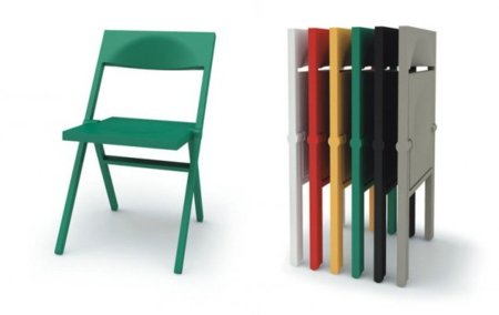 Piana, una silla plana de Alessi