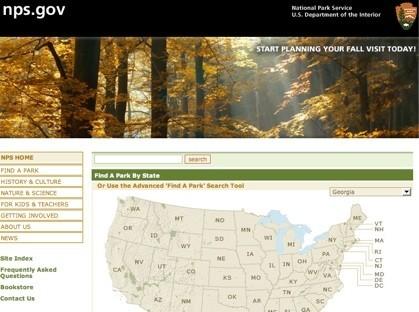 Parques Nacionales de los Estados Unidos