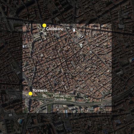 Barcelona Densidad