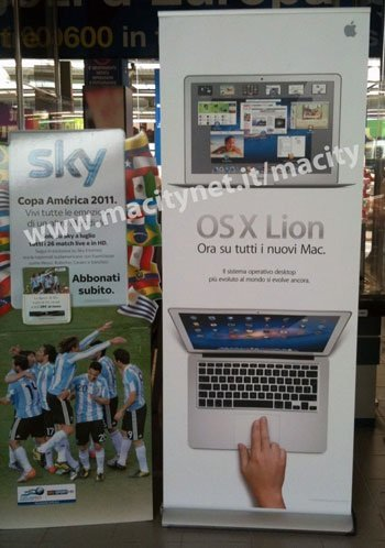 Mac OS X Lion lanzamiento Apple Store