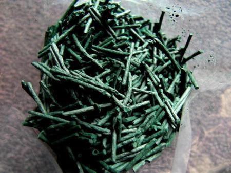 Alga espirulina como suplemento dietético