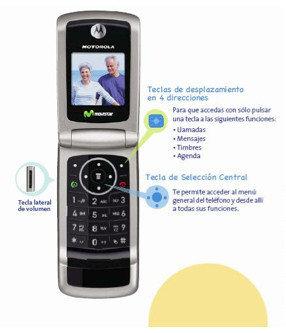 Motorola W220, nuevo Movistar Fácil