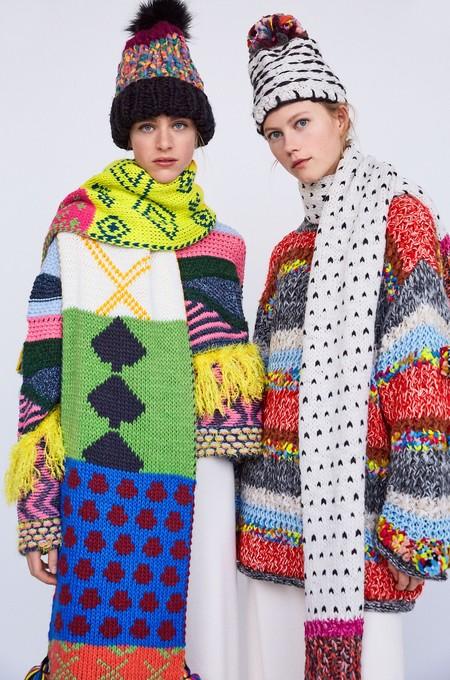 Con la nueva colección de bufandas de Zara vas a querer emigrar al Polo Norte