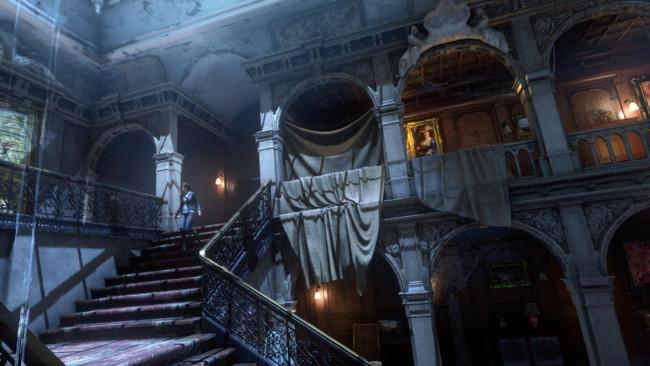 Rise Of The Tomb Raider Mansion Croft