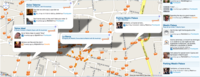 FourWhere une Foursquare, Gowalla y Yelp