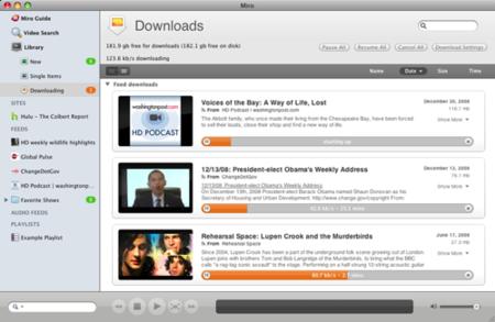 Miro 2.0, mejorando el navegador de vídeos
