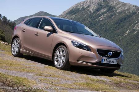 Volvo V40, presentación y prueba en Asturias