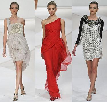 Valentino en la Semana de la Moda de París Primavera-Verano 2009