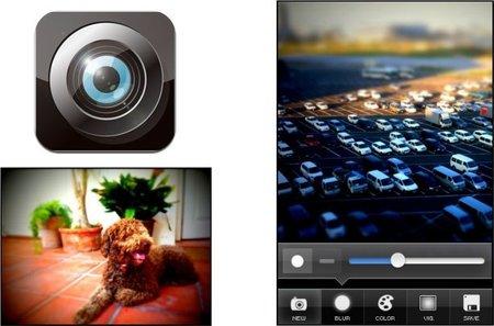 TiltShift Generator, Tilt & Shift de forma fácil con el iPhone
