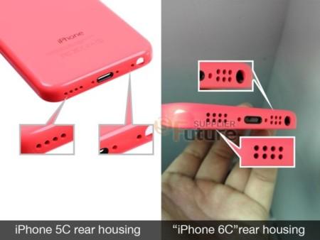 Primer filtrado del colorido iPhone 6C