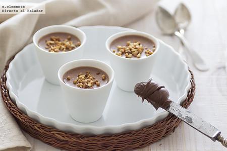 Pannacota de Nutella: receta fácil, sin horno y muy golosa