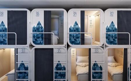 Dormir en poco espacio sin renunciar al confort: cinco hoteles cápsula en Europa