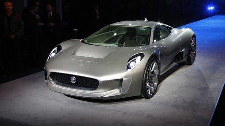 Jaguar C-X75, 1.600 Nm de placer eléctrico
