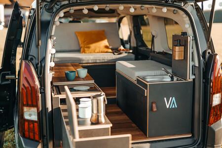 Vanderer: la mini furgoneta camper completamente modular