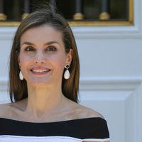 Doña Letizia estrena un estilismo sobresaliente para su encuentro con UNICEF
