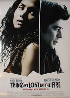 Póster de 'Things We Lost in the Fire' con Halle Berry y Benicio del Toro