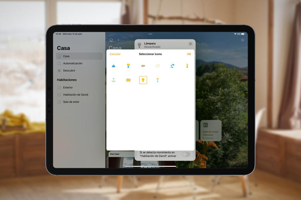 Cómo cambiar los iconos a nuestros accesorios HomeKit en la app Casa