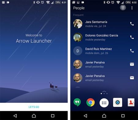 Probamos Arrow, el curioso launcher para Android desarrollado por Microsoft