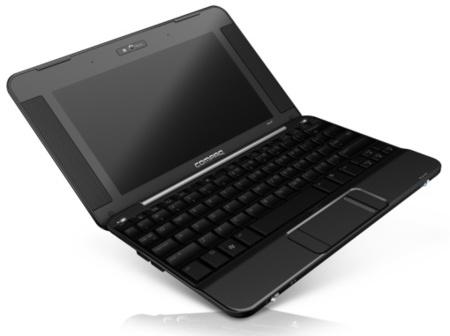 Compaq mini 705 con conectividad 3G integrada con Telefónica
