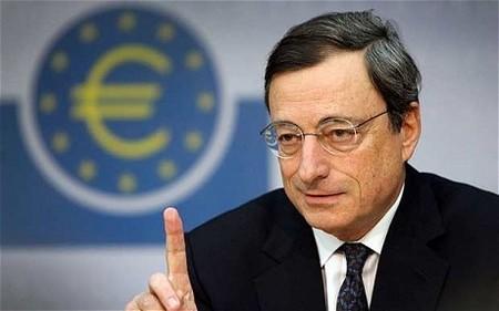 Mario Draghi no descarta una tasa de interés negativa