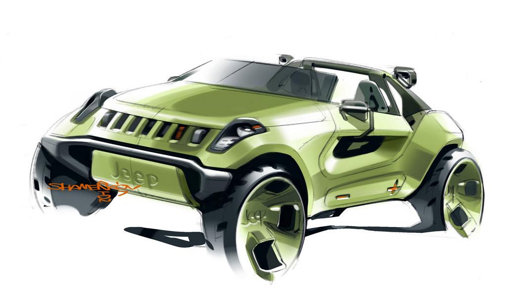 Foto de Jeep Renegade Concept (1/29)