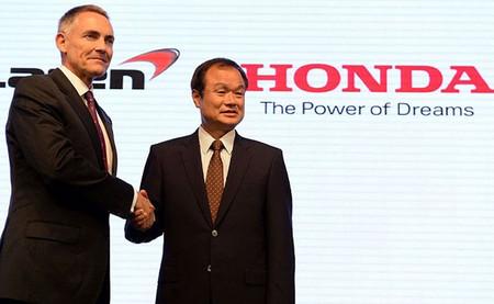 McLaren Honda Anuncio 2013