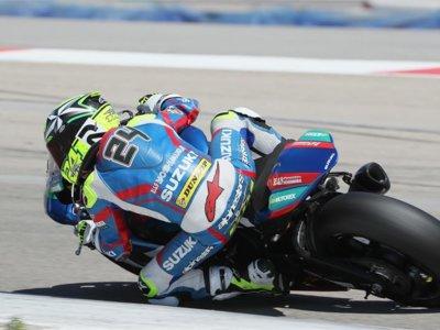 Toni Elías no se baja del podio en Laguna Seca pero se aleja del título del MotoAmerica