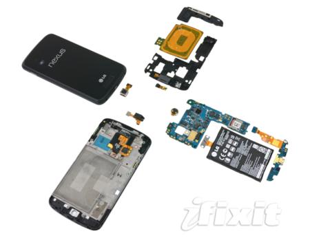 Nexus 4 tiene un chip LTE en su interior, que probablemente no utilizará