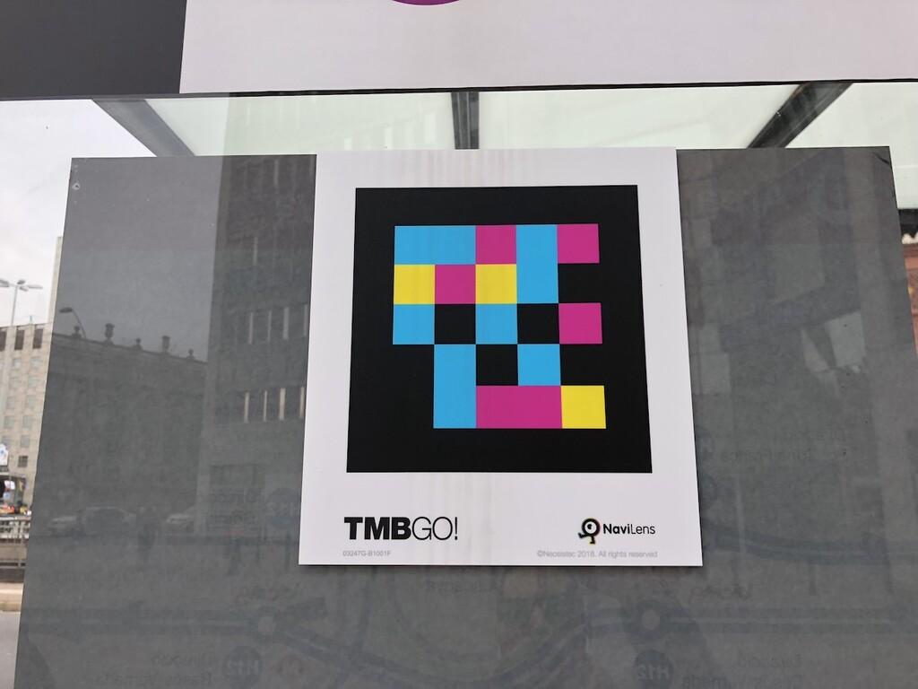 La evolución del código QR es española: así son las etiquetas de colores para invidentes en el transporte público que pueden leerse a 15 metros