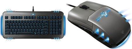 Teclado y ratón Razer para StarCraft II