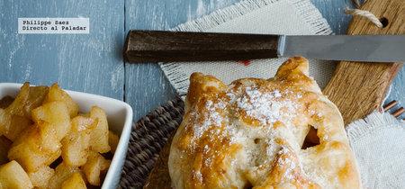 Empanadas de manzana. Receta fácil de postre