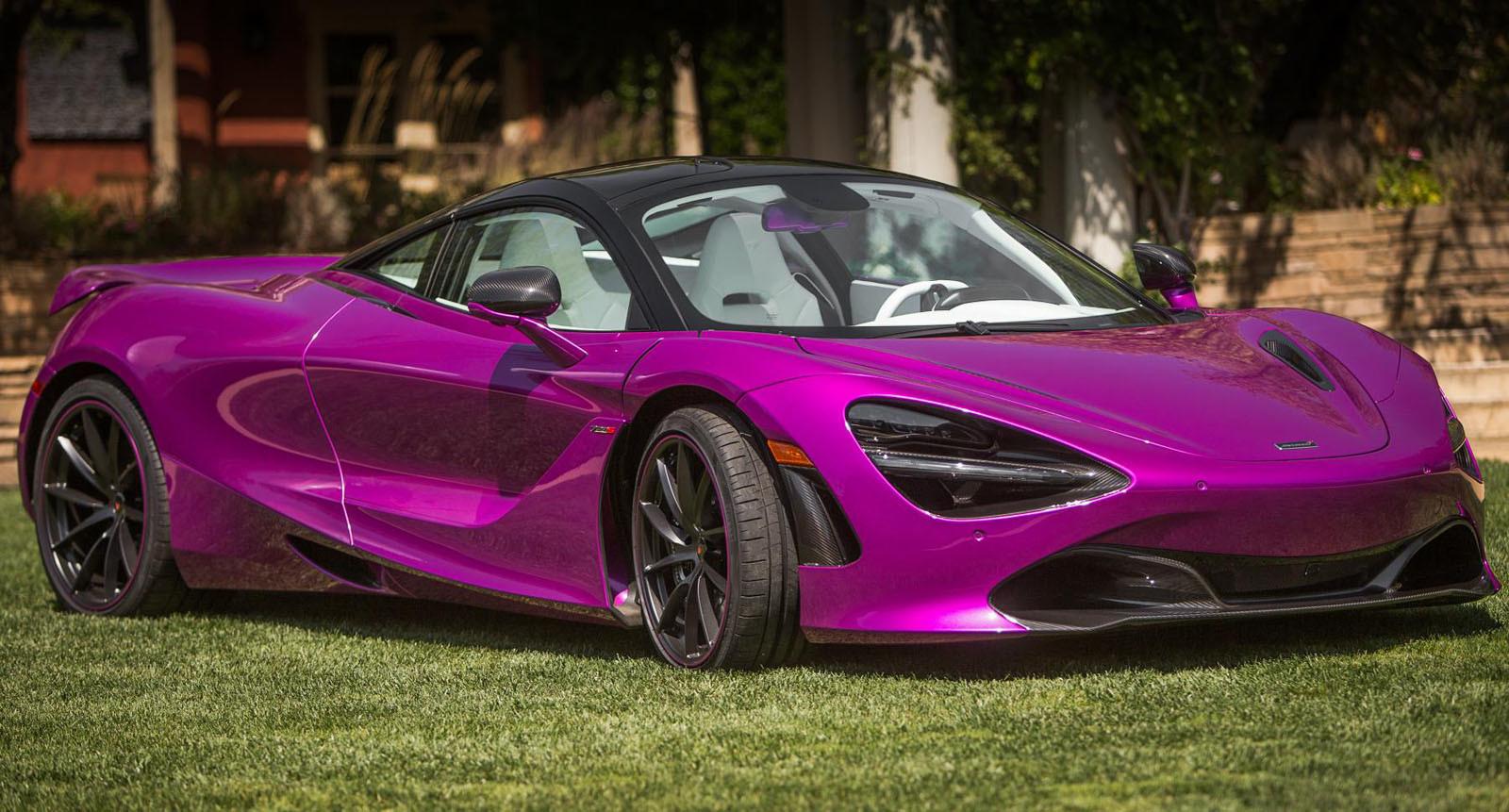 Foto de McLaren 720S fuxia (6/8)