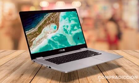 Amazon tiene a precio mínimo un equilibrado portátil para trabajar en la nube como el ASUS Chromebook Z1500CN-EJ0400: llévatelo por 279 euros