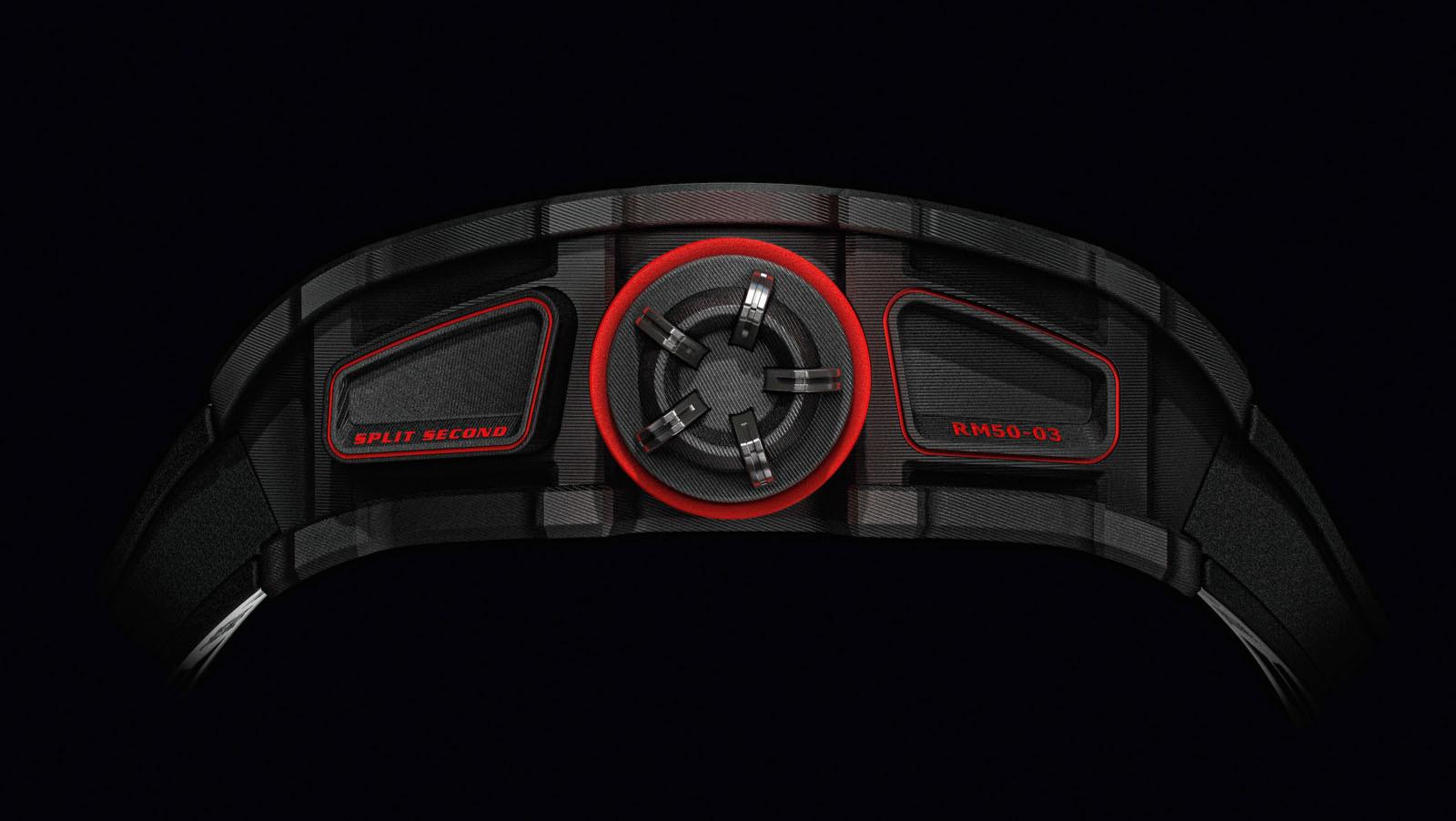 Foto de RM 50-03 Tourbillon Split Seconds Chronograph Ultralight McLaren F1 (3/5)