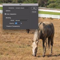 Photoshop mejora significativamente el relleno automático de imágenes con el nuevo Content-Aware Fill