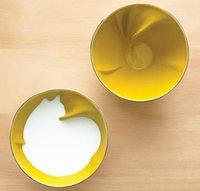 Un bol para los cereales que esconde un animal