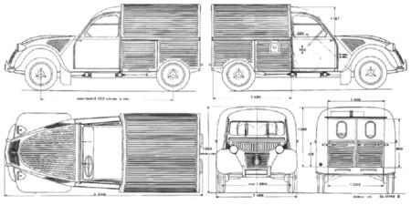 Citroen 2cv Au 1950