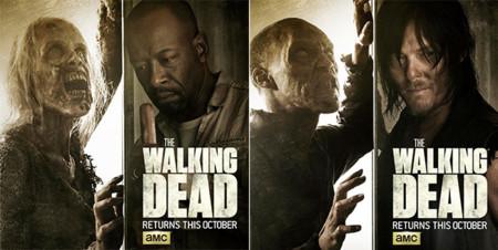 Zombies, zombies y más zombies en el tráiler de la sexta temporada de 'The Walking Dead'