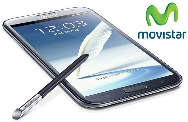 Precios Samsung Galaxy Note 2 y Galaxy Mini SIII con Movistar