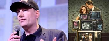 """""""Nuestra idea con 'Bruja Escarlata y Visión' era hacer algo que no se pudiese hacer como película"""". Kevin Feige"""