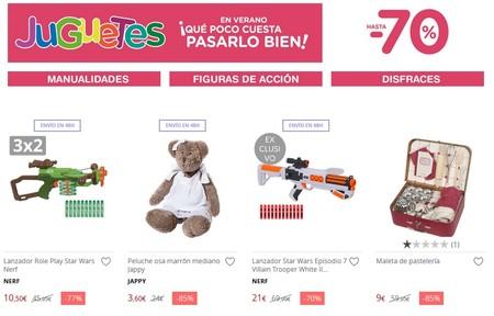 Chollos en juguetes en El Corte Inglés: descuentos de hasta el 70% en primeras marcas