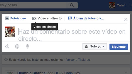 Directo Facebook