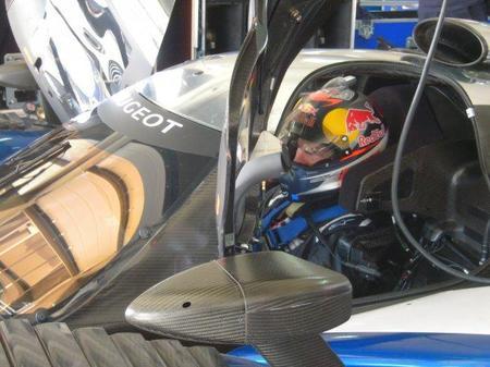 Kimi Raikkonen ya ha probado el Peugeot 908