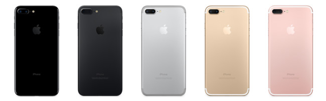 iPhone 7(siete) colores