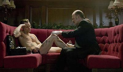 Viggo Mortensen y la impresionante escena de la sauna