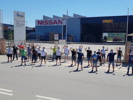 Nissan Barcelona Protestas
