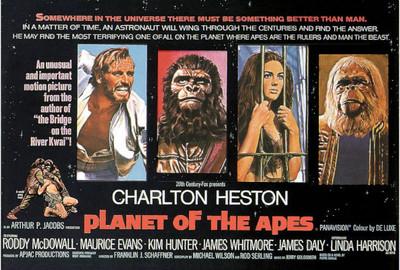Ciencia-ficción: 'El planeta de los simios', de Franklin J. Schaffner
