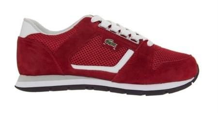 Zapatillas Lacoste Rojas